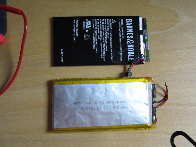 Austausch Oder Wechsel Des Akkus Beim Tablet Pc Odys Space