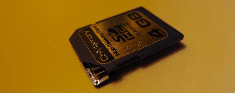 Micro Sd Karte Beschädigt.Seltsame Und Einfache Reparatur Einer Mechanisch Beschädigten Sd Karte
