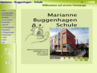 screenshot homepage layout buggenhagenschule